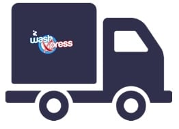 Laundry delivered back to your home or office within 72 hours of collection from WashXpress - serving Bedford, Huntingdon and surrounding areas